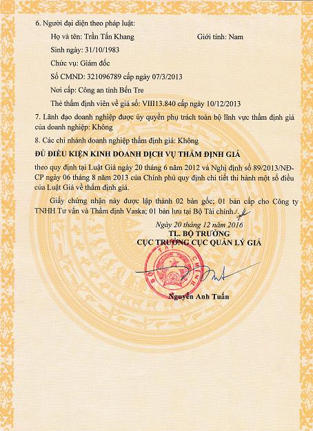 TRANG 2 - Quyết Định 204/TĐG ngày 20/12/2016