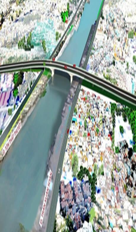 Tham Dinh13 - Xây cầu Nguyễn Khoái 1.250 tỷ, giảm kẹt xe cho Nam Sài Gòn