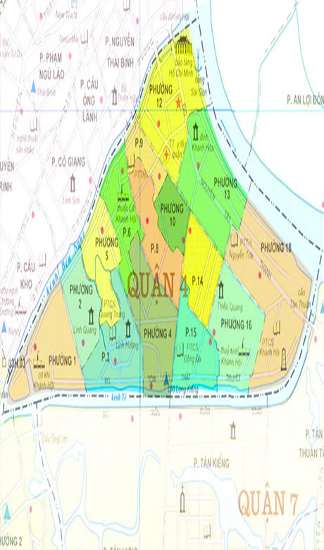 Tham Dinh15 - TPHCM xúc tiến đầu tư xây dựng cơ sở hạ tầng trên địa bàn quận 4