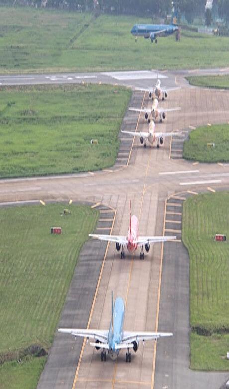 Tham Dinh18 - Khẩn cấp mở rộng sân bay Tân Sơn Nhất